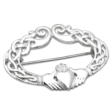 gioielli irlanda claddagh ring spilla argento