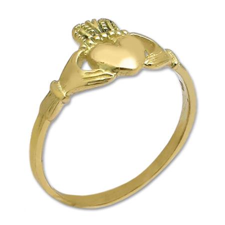 gioielli irlandesi anello claddagh oro