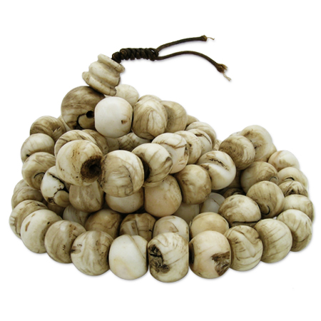 Tradicional Tibetal shell Rosary