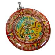 calendario maya con principe piumato