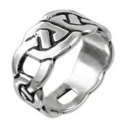 joyería céltica en plata - anillo