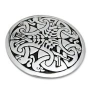 gioielli celtici - spilla con pavoni