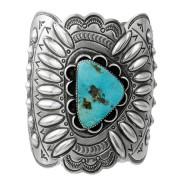 pulsera Navajo en plata y turquesa