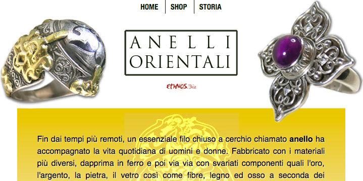 Oriental ethnic rings