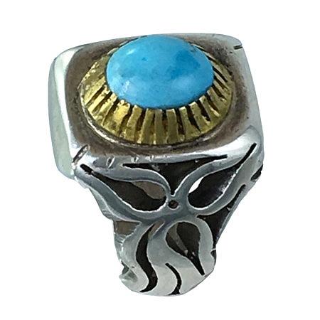 anelli turchese