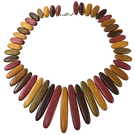 gioielli in legno