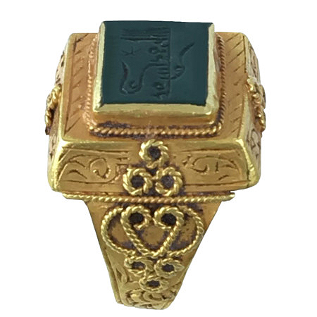 ethnic gold ring