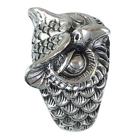 anillo con buho