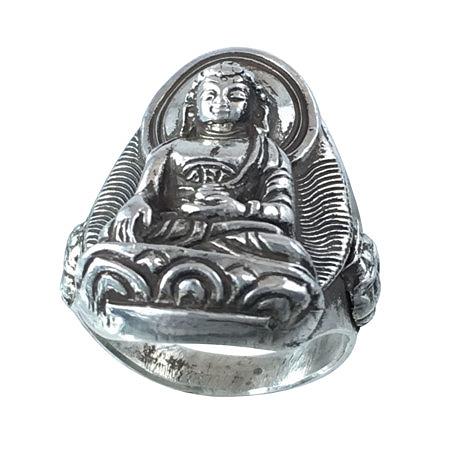 anello con Buddha