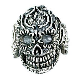 anello messico calavera