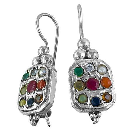orecchini Nava-Ratna , gioielli dal mondo