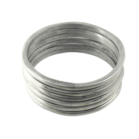 recycled aluminum bracelets