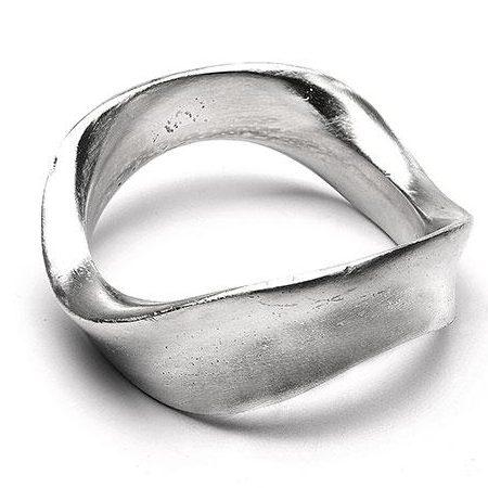recycled aluminum bracelet