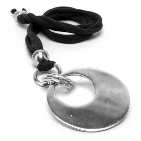 recycled aluminum pendant
