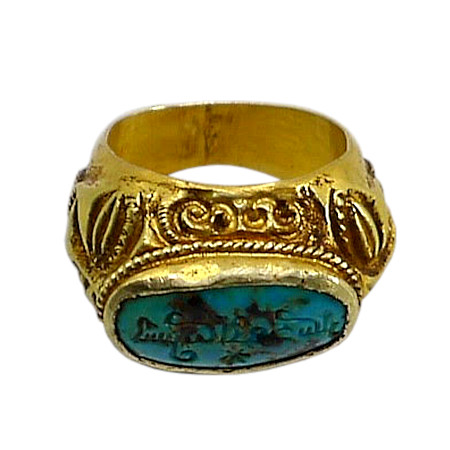 ethnic jewelry, gold ring