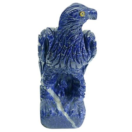 águila en piedra