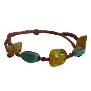 braccialetto pietre peruviane