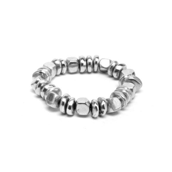 braccialetto alluminio riciclato
