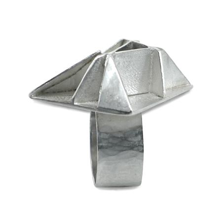 argento satinato e lucido