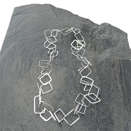 maglia artigianale in argento