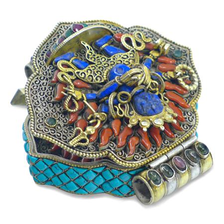 joyería budista tibetana