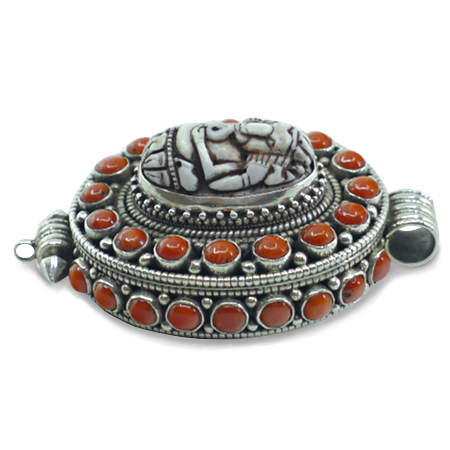 joyería étnica nepalesa