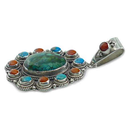gioielli etnici tibetani